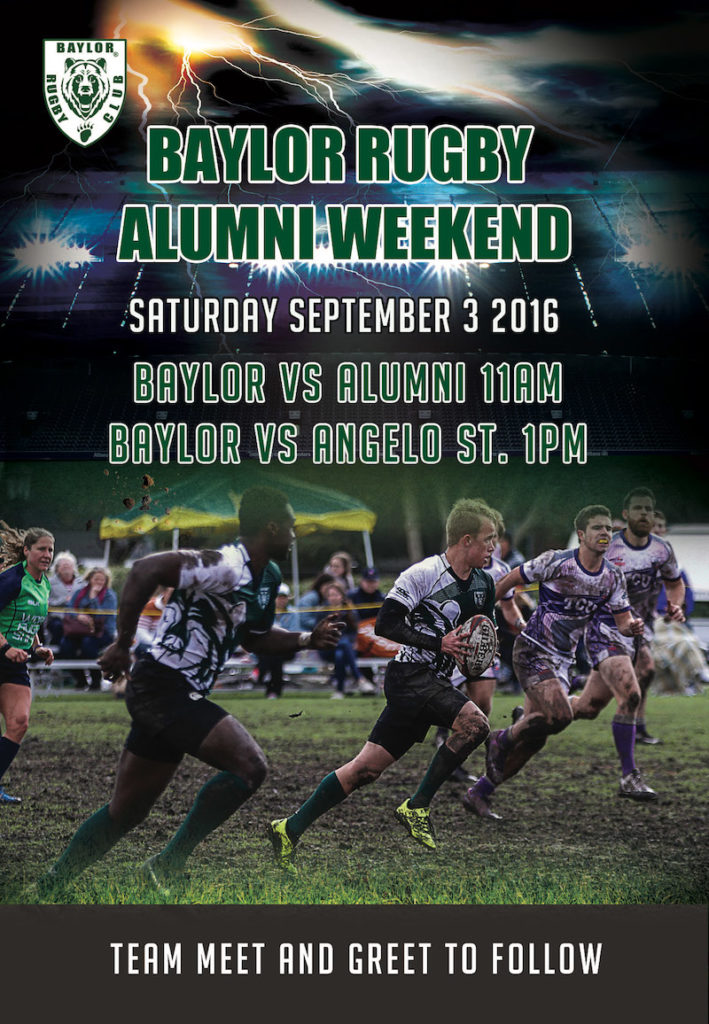 2016 Alumni Weekend is September 3rd
