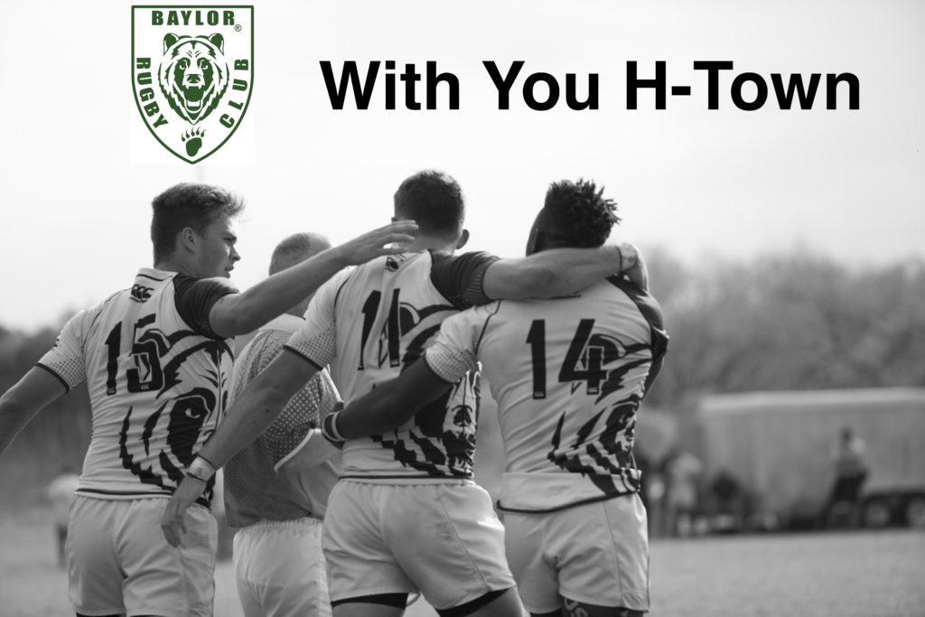Baylor Rugby Postpones Annual Alumni Match to Support Hurricane Harvey Relief Efforts