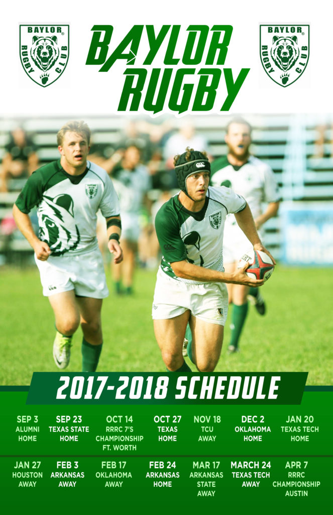 Baylor Rugby Releases 2017-18 Schedule